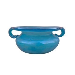Mid-20th Century Murano Scavo Bowl For Sale