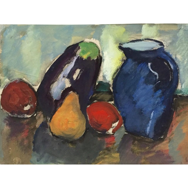 Harold C. Davies Mid-Century Still Life Painting For Sale - Image 4 of 7