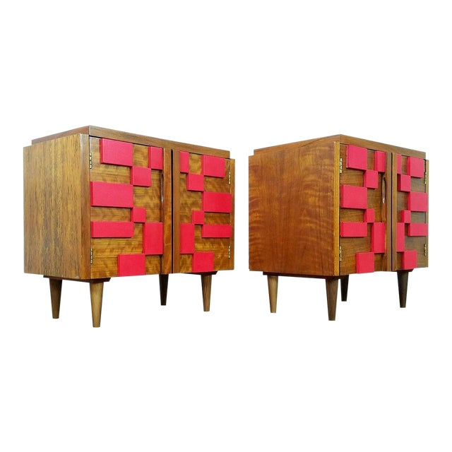 1960s Mid Century Modern Lane End Tables - a Pair For Sale