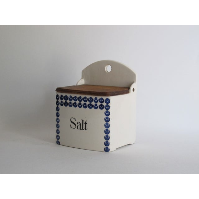 German Blue and White Salt Cellar - Image 3 of 7