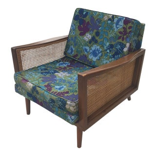 1950s Vintage Lawrence Peabody for Nemschoff Lounge Chair For Sale