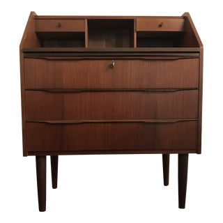 Mid- Century Modern Secretary Desk For Sale