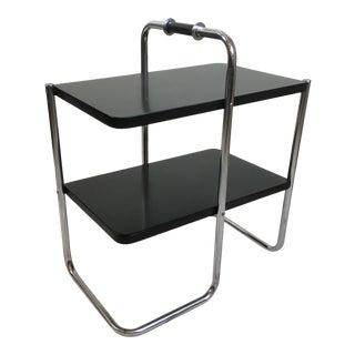 Wolfgang Hoffmann for Howell Chrome Side Table Model 305 For Sale