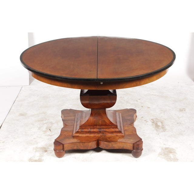 19th-C. English Empire-Sty Center Table - Image 2 of 10