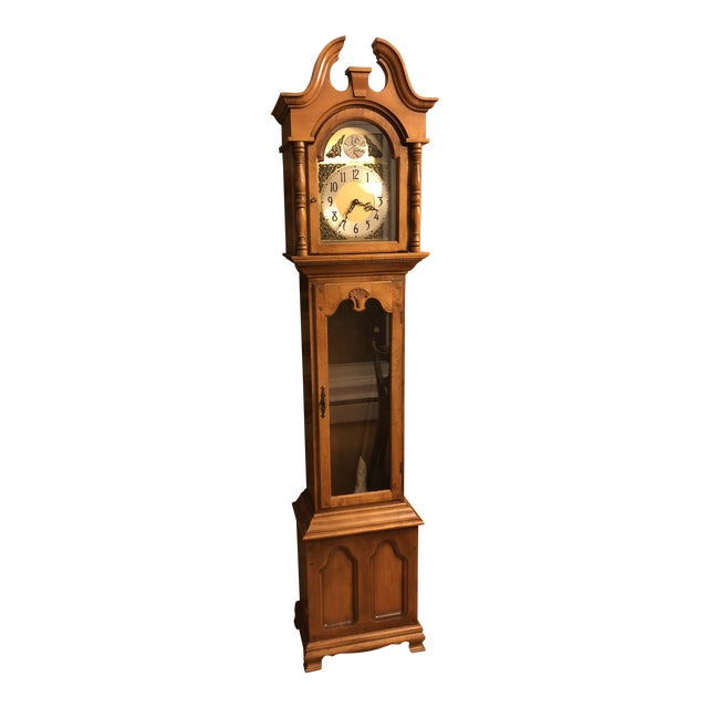 Herschede Lady Hawthorne No. 611 Grandfather Clock For Sale