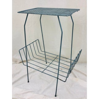 Vintage Mid Century Metal Side Table Preview