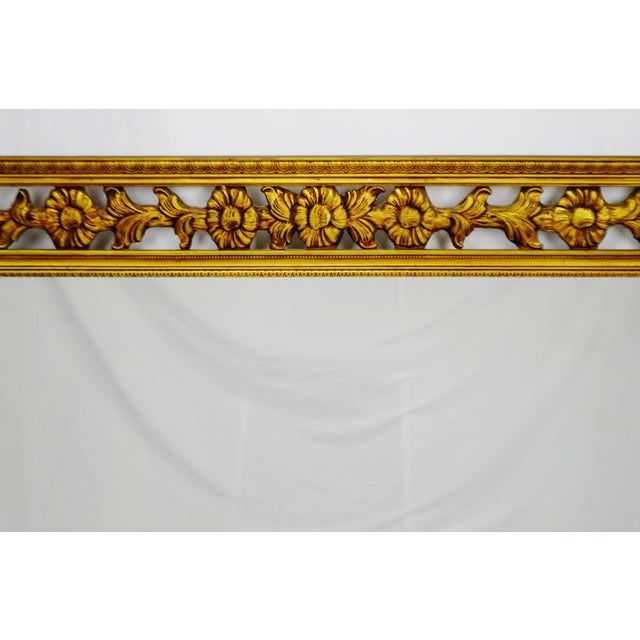 Gold Gilt Pierced Wall Mirror - Image 4 of 9