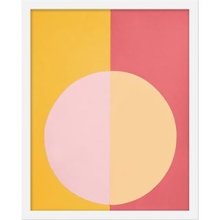 "Small ""Pink and Orange Forever"" Print by Stephanie Henderson, 16"" X 20"""