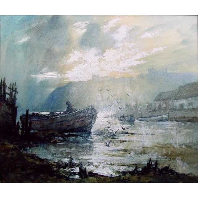 Fisherman at Sunrise by Robert Howey For Sale