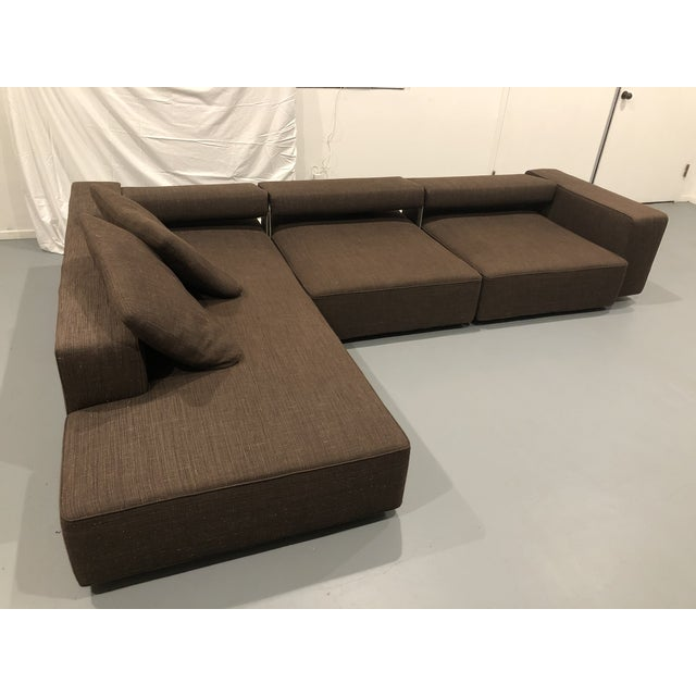 Brown B&b Italia Andy Sectional Sofa by Paolo Piva For Sale - Image 8 of 8