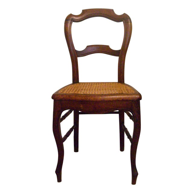 19th-C. English Balloon-Back Side Chair - Image 1 of 5