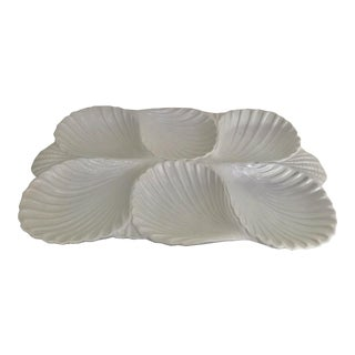 Italian Oysters Serving Platter For Sale