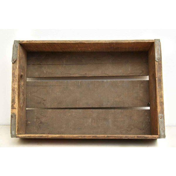 Worn Vintage Wooden Pepsi Crate For Sale - Image 10 of 10
