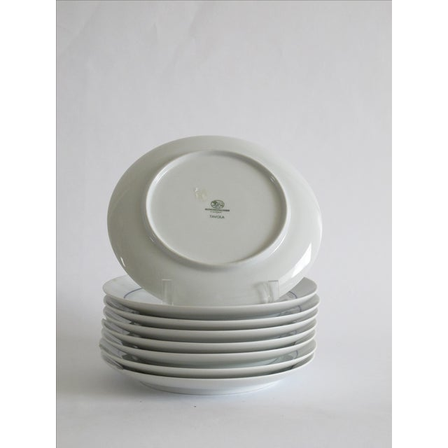 German Blue & White Dessert Plates - Set of 8 - Image 4 of 6