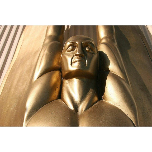 "Art Deco Angel Sculpture ""Wings of the Republic"" - Image 7 of 10"
