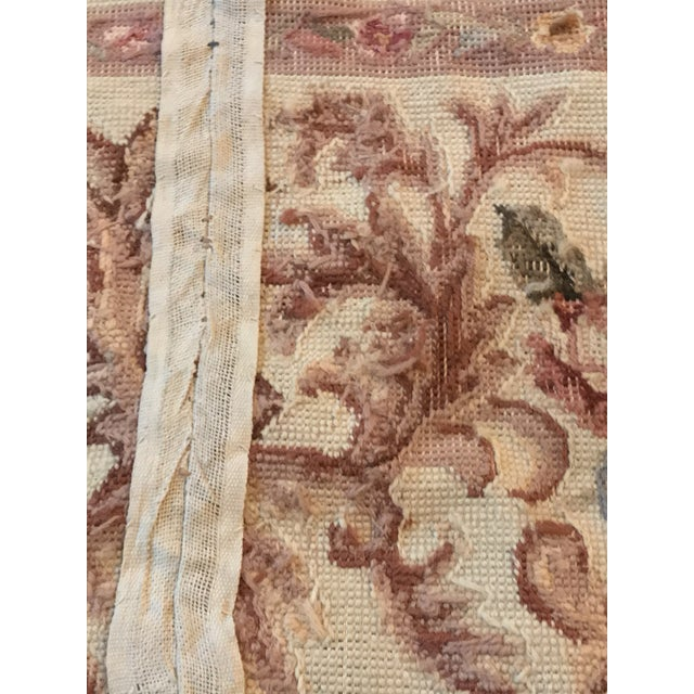 French Aubusson Needlepoint Rug - 8′6″ × 11′6″ For Sale In New York - Image 6 of 11