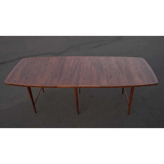 Lane Furniture 1960s Mid-Century Modern Paul McCobb Rosewood Lane Delineator Series Dining Table For Sale - Image 4 of 10