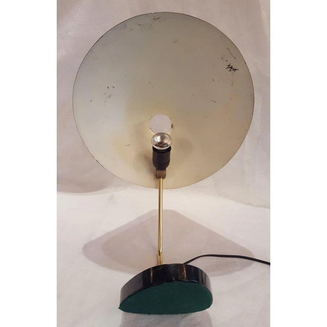Mid-Century German Ufo Space Age Brushed Aluminum Lamp For Sale - Image 9 of 10