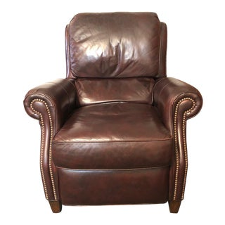 Hancock & Moore Traditional Leather Recliner Armchair