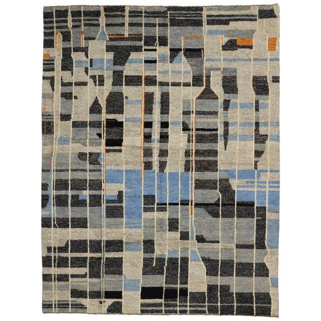 2010s Contemporary Moroccan Style Rug with Modern Design For Sale - Image 5 of 5