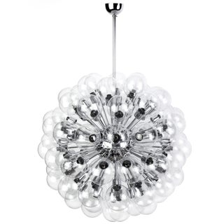 Motoko Ishii Mid-Century Bubble Sputnik Chandelier For Sale