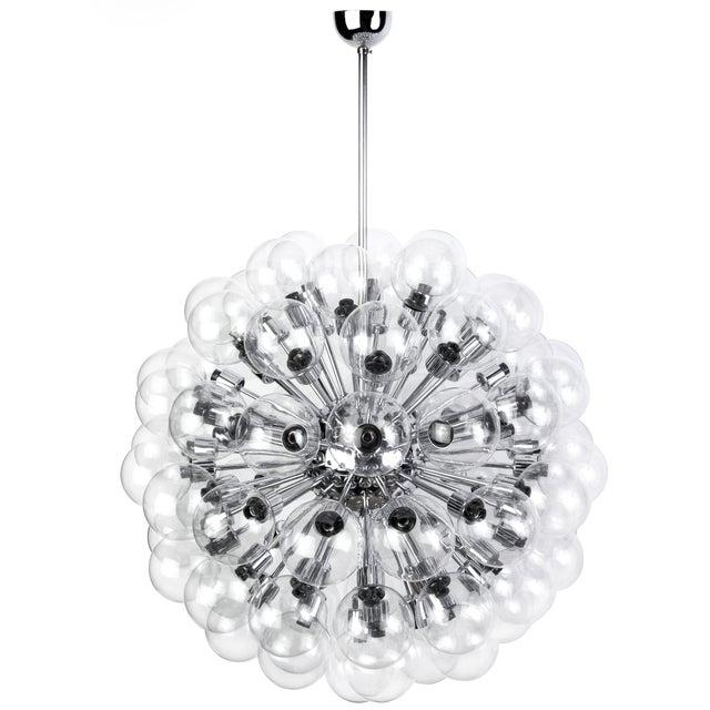 Motoko Ishii Mid-Century Bubble Sputnik Chandelier For Sale