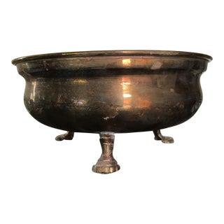 Vintage Solid Brass Vessel Bowl