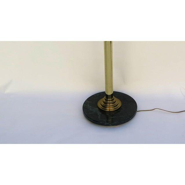 Art Deco 1980s Art Deco Revival Floor Lamp For Sale - Image 3 of 5