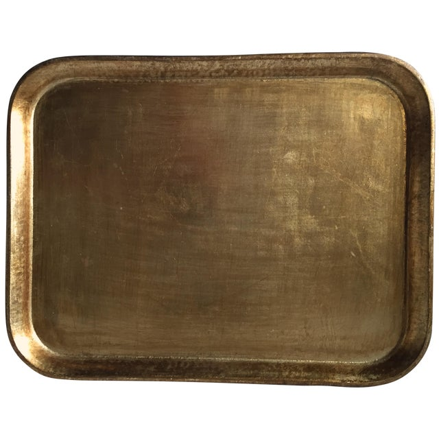 Italian Gilt Wood Serving Tray - Image 1 of 5