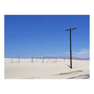 Americana Photograph of Telephone Pole in the Desert