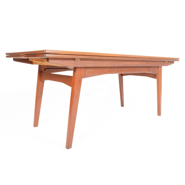 Danish Modern Coffee or Dining Elevation Table - Image 1 of 9