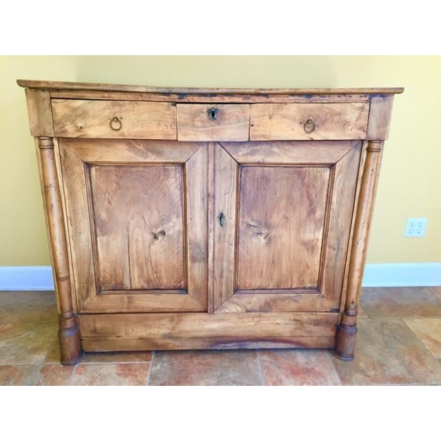 19th Century French Country Cherry Cabinet For Sale - Image 13 of 13