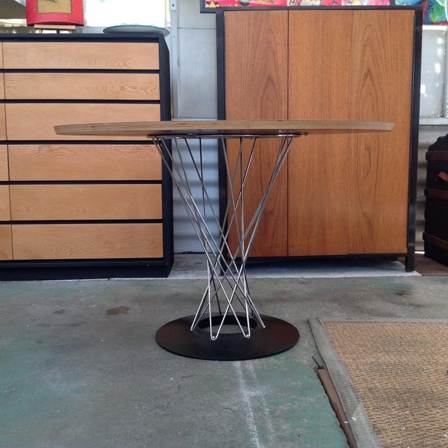 Mid-Century Modern Noguchi for Knoll Cyclone Dining Table For Sale - Image 3 of 7