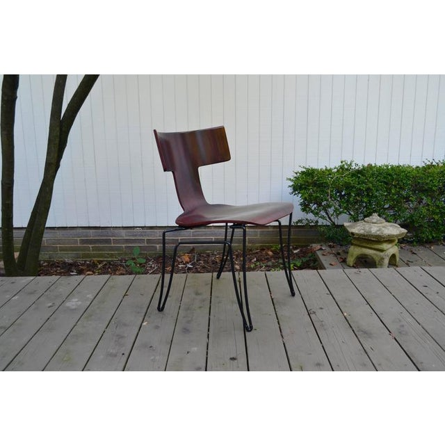 Late 20th Century Anziano Dining Chairs by John Hutton for Donghia For Sale - Image 5 of 10