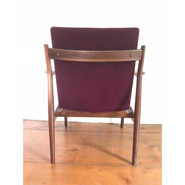 Arne Vodder Arne Vodder Rosewood Model 431 Chair For Sale - Image 4 of 9