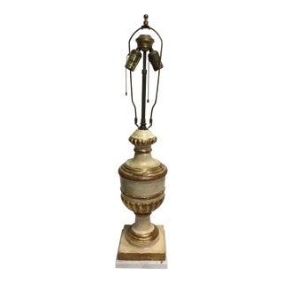 Brach Allen Mid-Century Modern Florentine Lamp on Marble Base