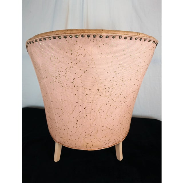 Deco Shell Club Chair - Image 5 of 9