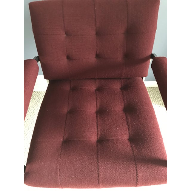 Milo Baughman Style Chrome Armchair by Patrician For Sale - Image 5 of 9