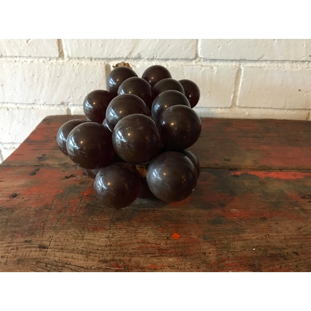 Vintage Brown Resin Grape Cluster For Sale - Image 9 of 10