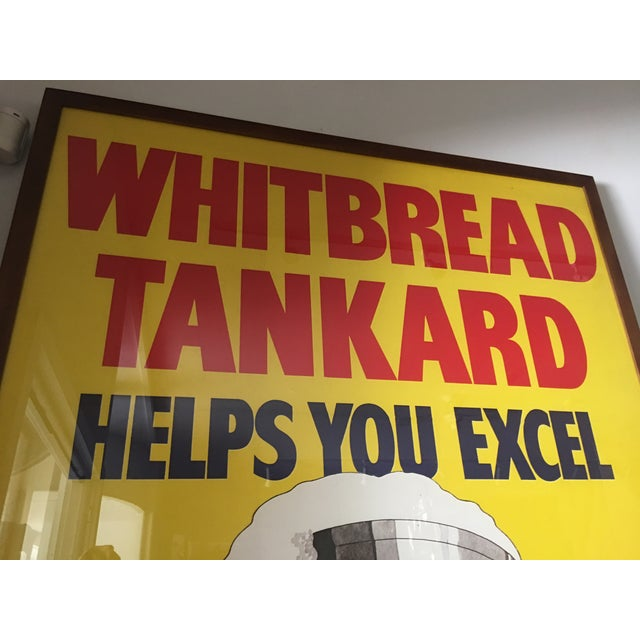 Original English Whitbred Tankard Ales Poster - Image 10 of 11