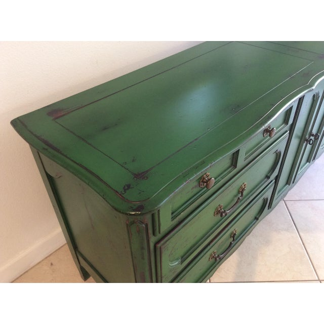Rustic 20th Century Provencal Style Credenza For Sale - Image 3 of 8