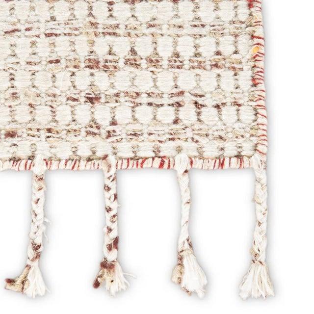 Contemporary Jaipur Living Perkins Handmade Dot Ivory/ Burgundy Area Rug - 2′ × 3′ For Sale - Image 3 of 6