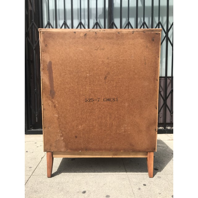 5 Drawer Highboy By Dixie For Sale In Los Angeles - Image 6 of 8