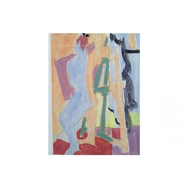 Blue Nude by Di Gesu - Image 2 of 5