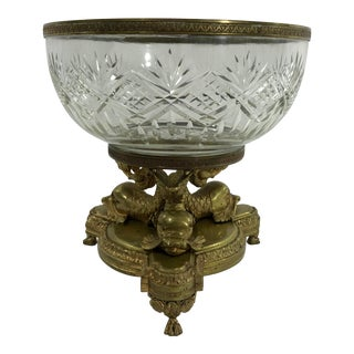Louis XVI Style Bronze Compote For Sale