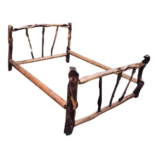 Aspen Queen Rustic Bed