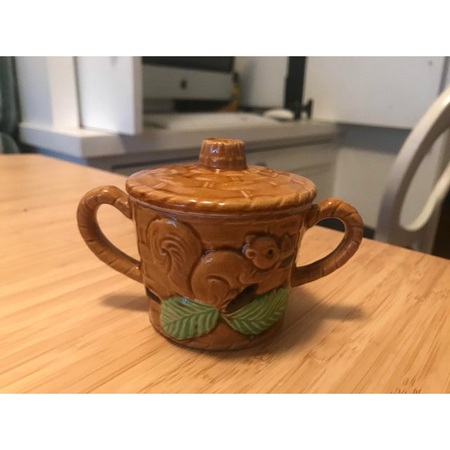 Vintage Squirrel Tea Set Japanese Pottery For Sale - Image 10 of 13