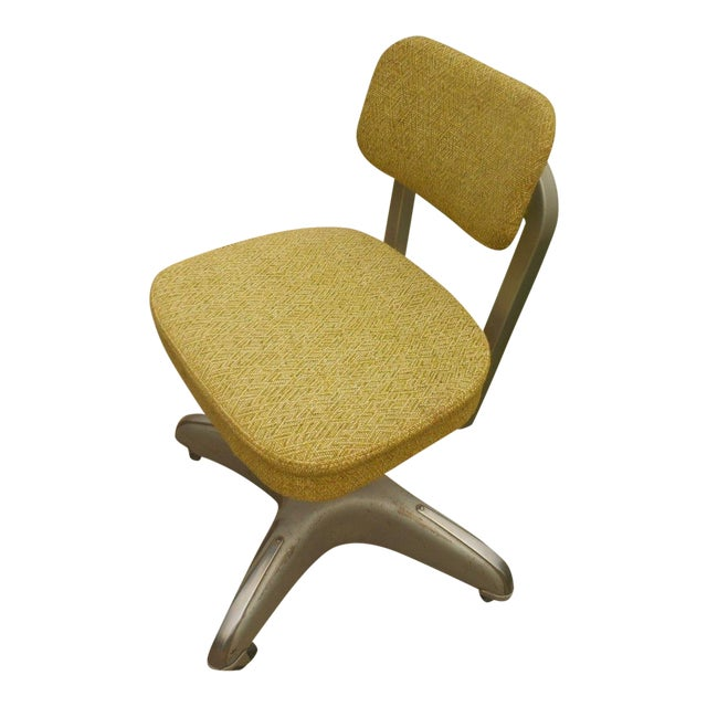 Industrial Steel & Aluminum Cole Office Chair - Image 1 of 5