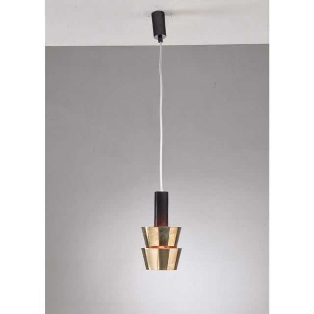 1950s Itsu Old Stock Brass Pendant, Finland, 1950s For Sale - Image 5 of 5