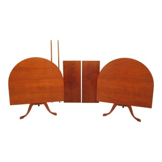 Eldred Wheeler Cherry Bench Made Dining Room Table